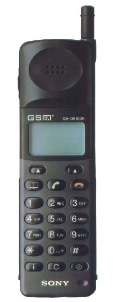 Sony CM DX 1000